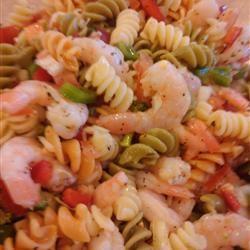 Shrimp Pasta Salad with Italian Dressing