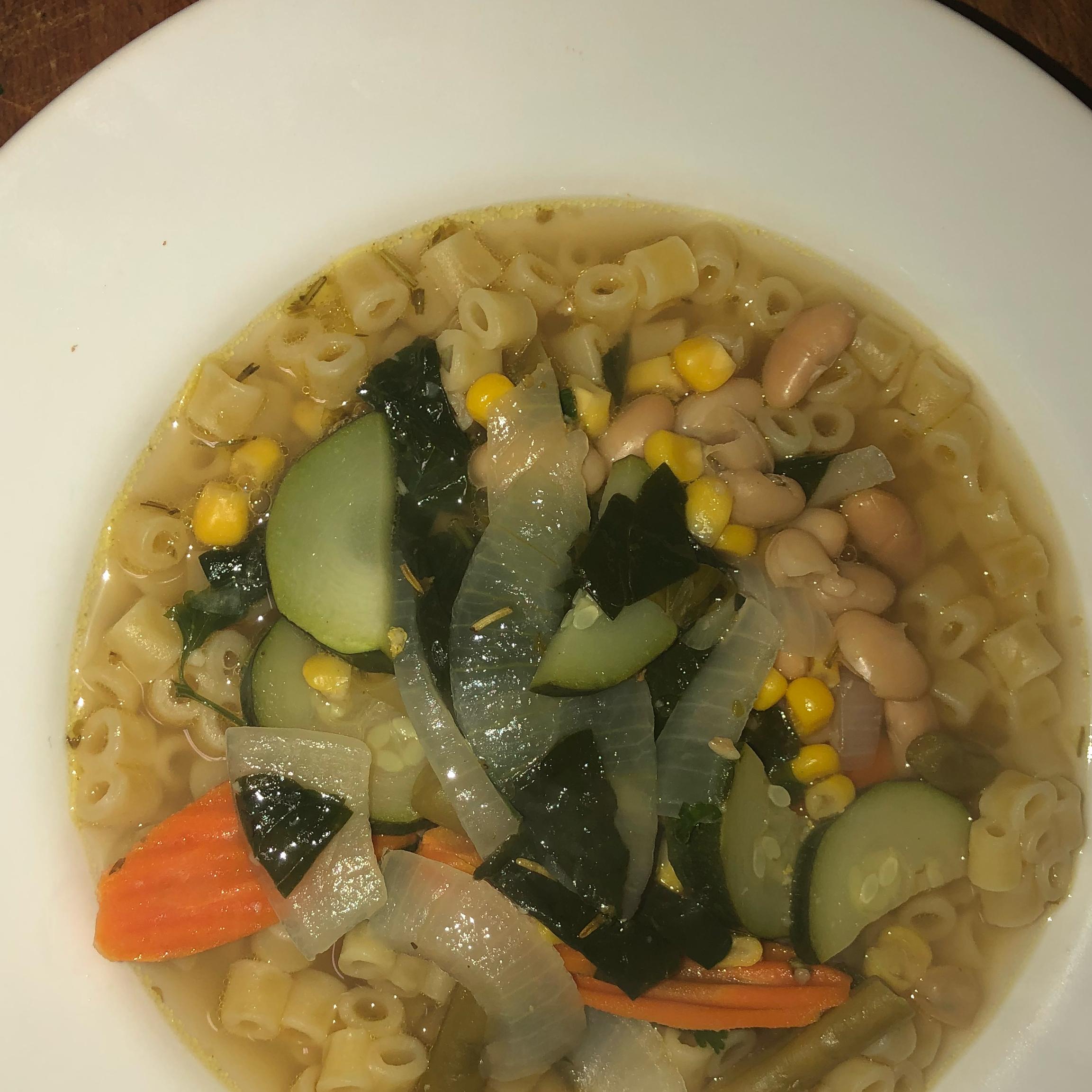 Beans, Greens and Garlic Soup josh