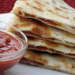 Grilled Pizza Wraps
