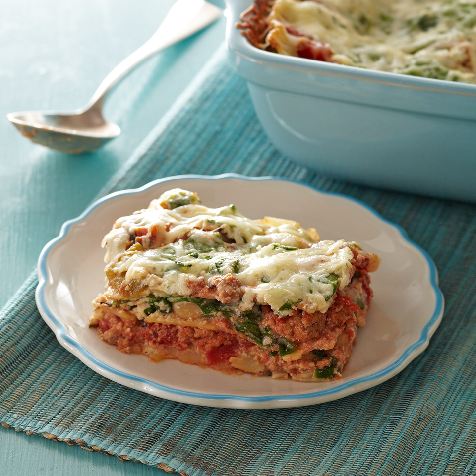 Easy Lasagna Diabetic Living Magazine