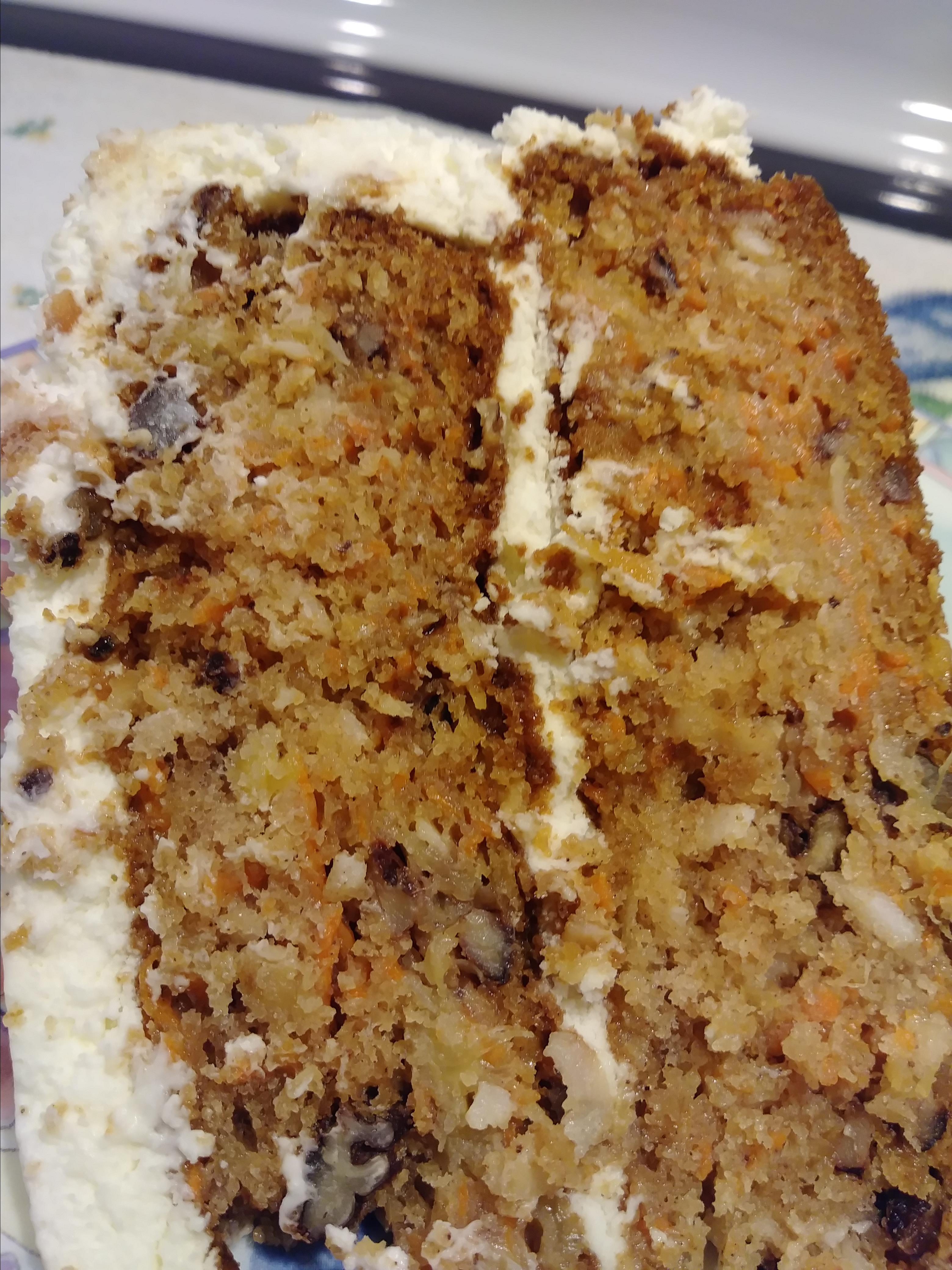 Sam's Famous Carrot Cake Jazzy