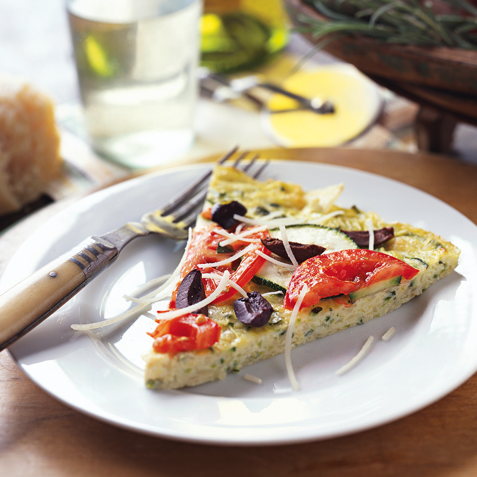 Zippy Zucchini Frittata Diabetic Living Magazine
