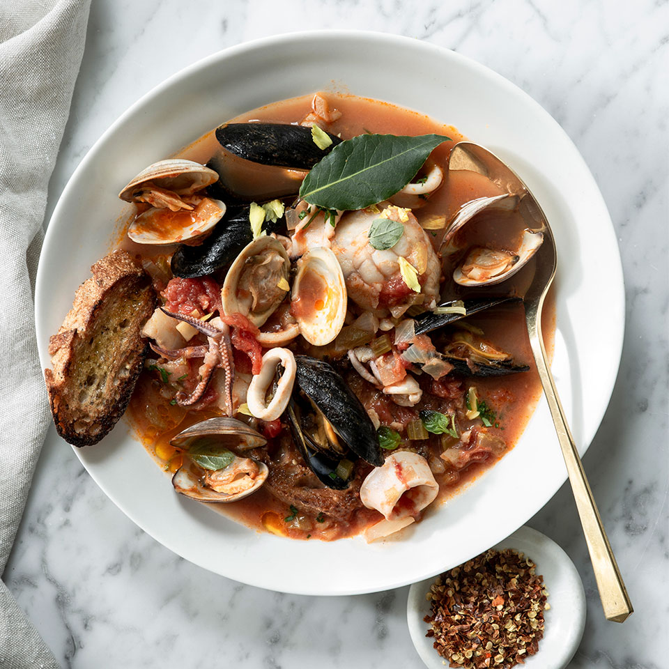 Brodetto di Pesce (Adriatic-Style Seafood Stew) Trusted Brands