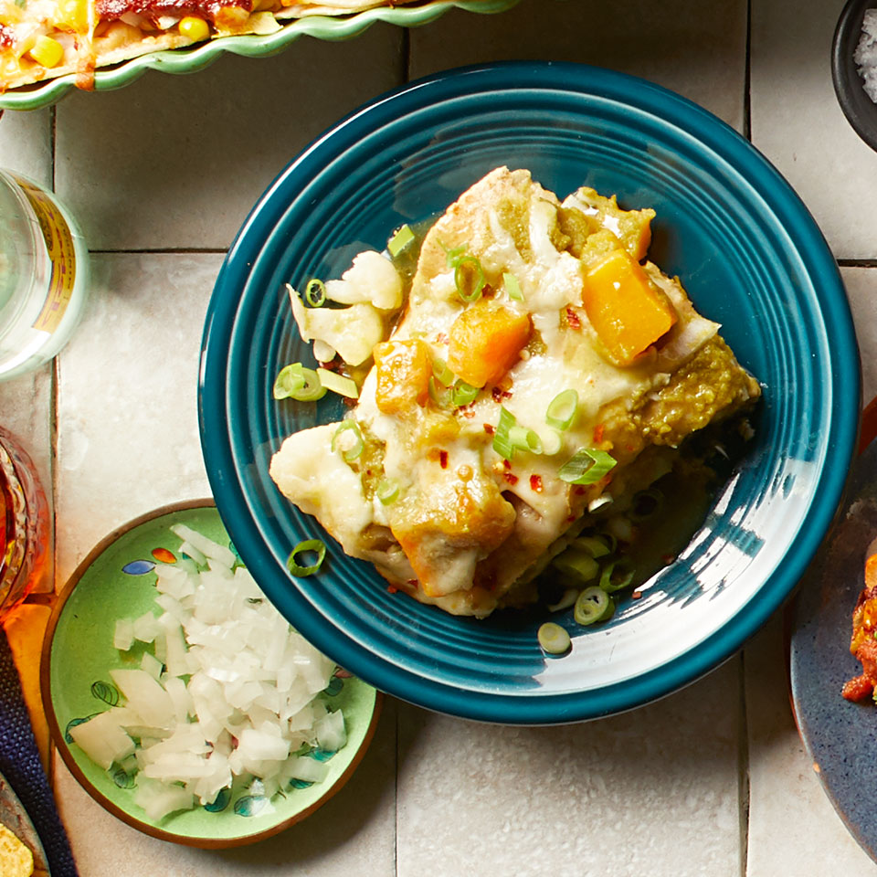 Butternut Squash & Cauliflower Enchiladas Trusted Brands
