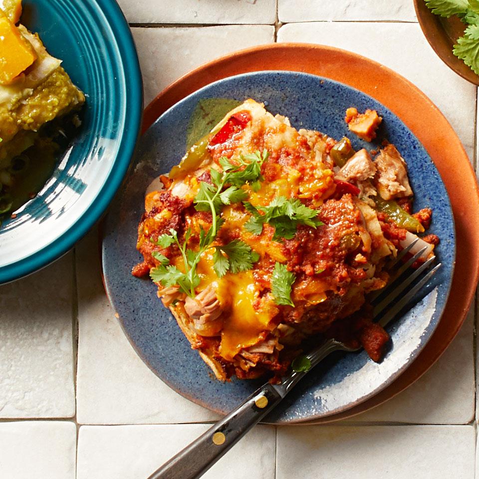 Jackfruit & Pepper Enchiladas Breana Killeen