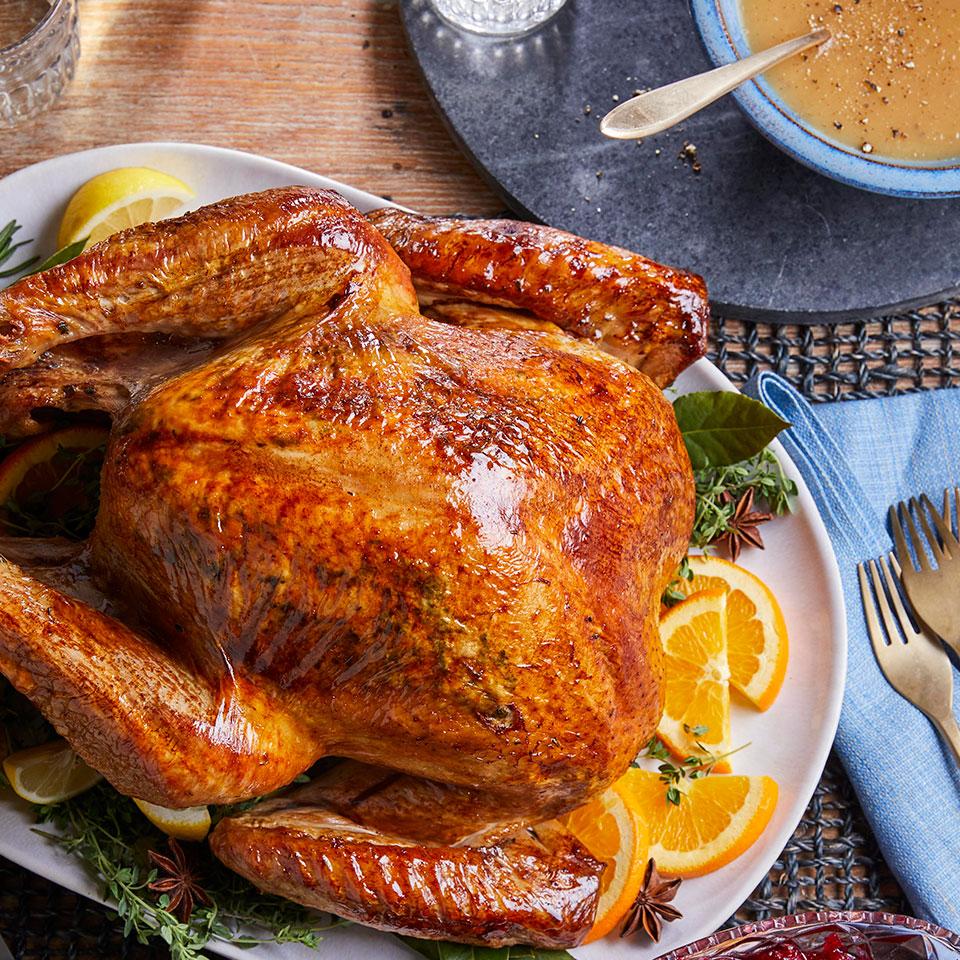 José Andrés' Brined Roast Turkey & Gravy José Andrés