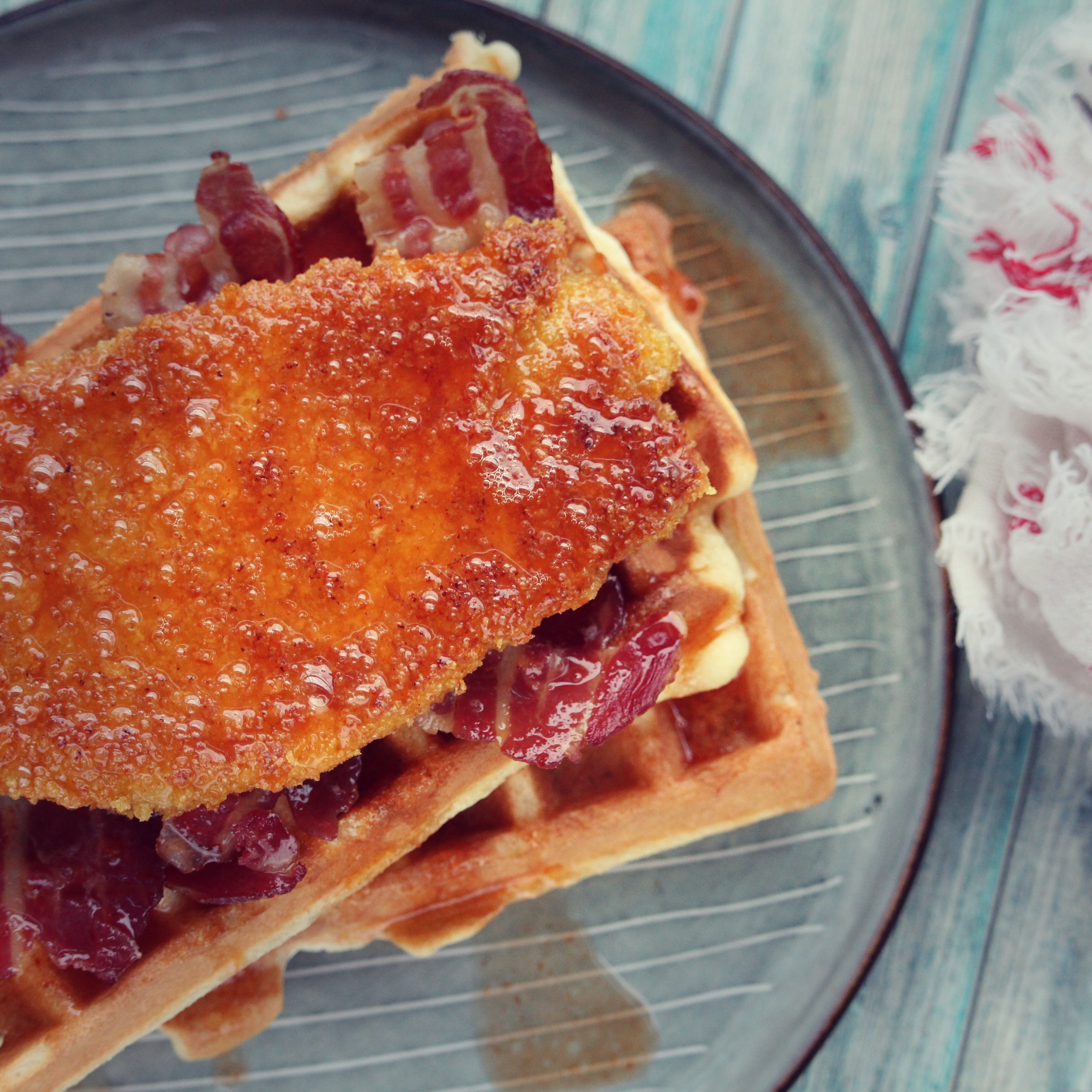 Gluten-Free Chicken and Waffles