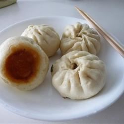 Chinese Steamed Buns with Meat Filling victoria