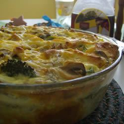 Mom's Breakfast Strata Joanna