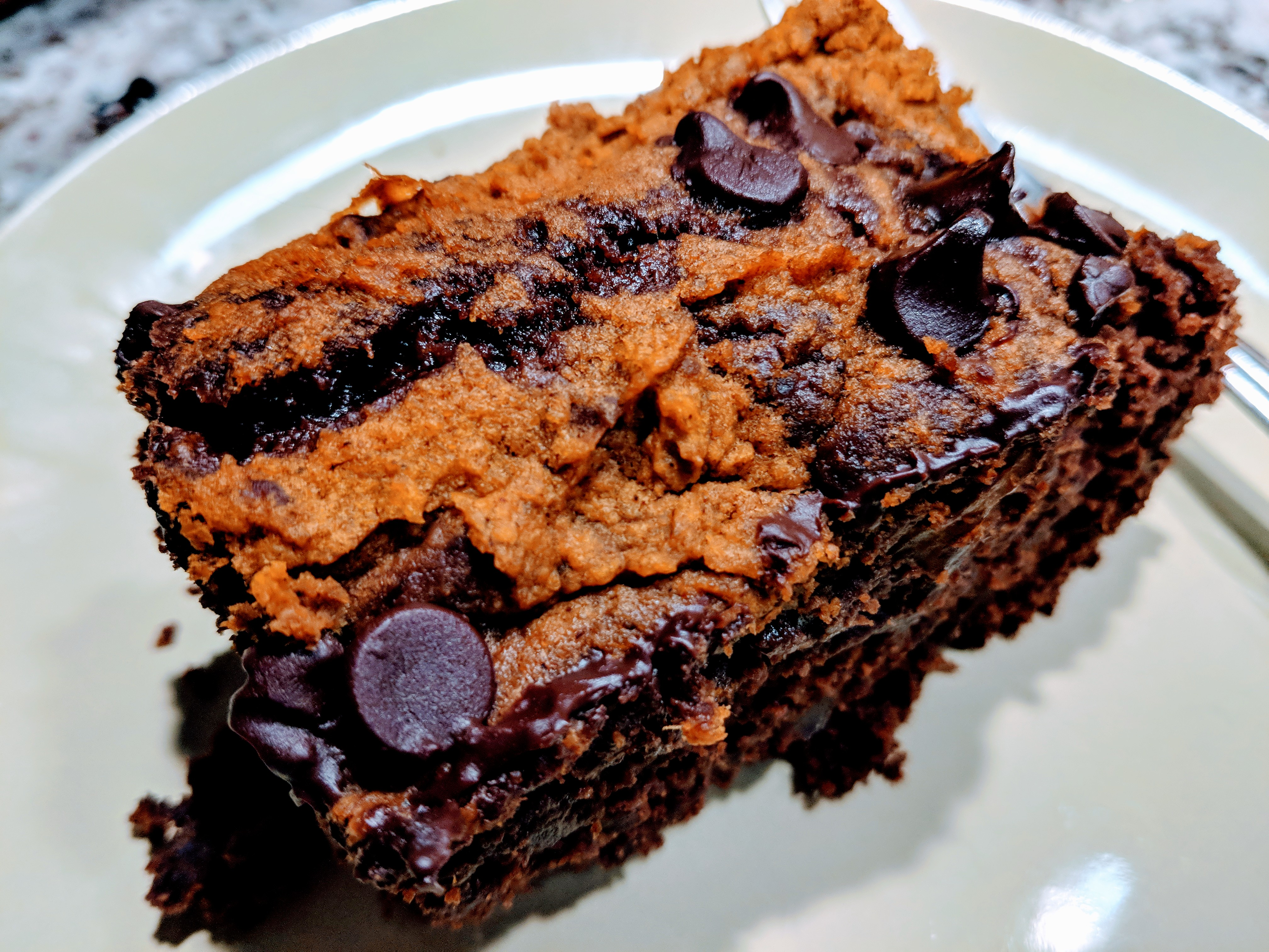 Vegan Pumpkin Brownie likeatcake