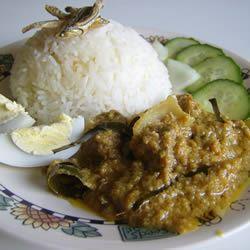 Malaysian Nasi Lemak Joanna