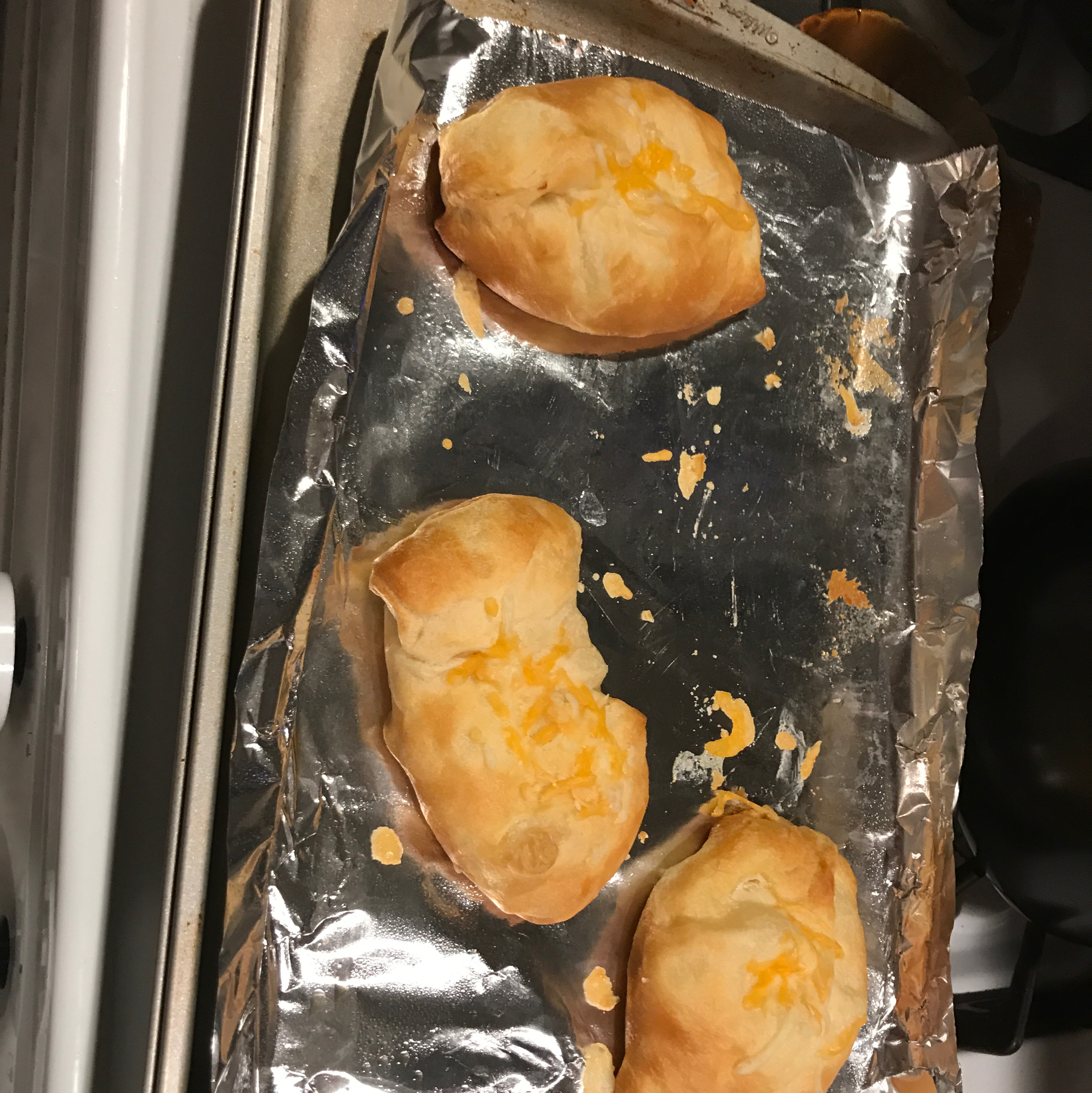 Crescent Roll Leftover Chicken