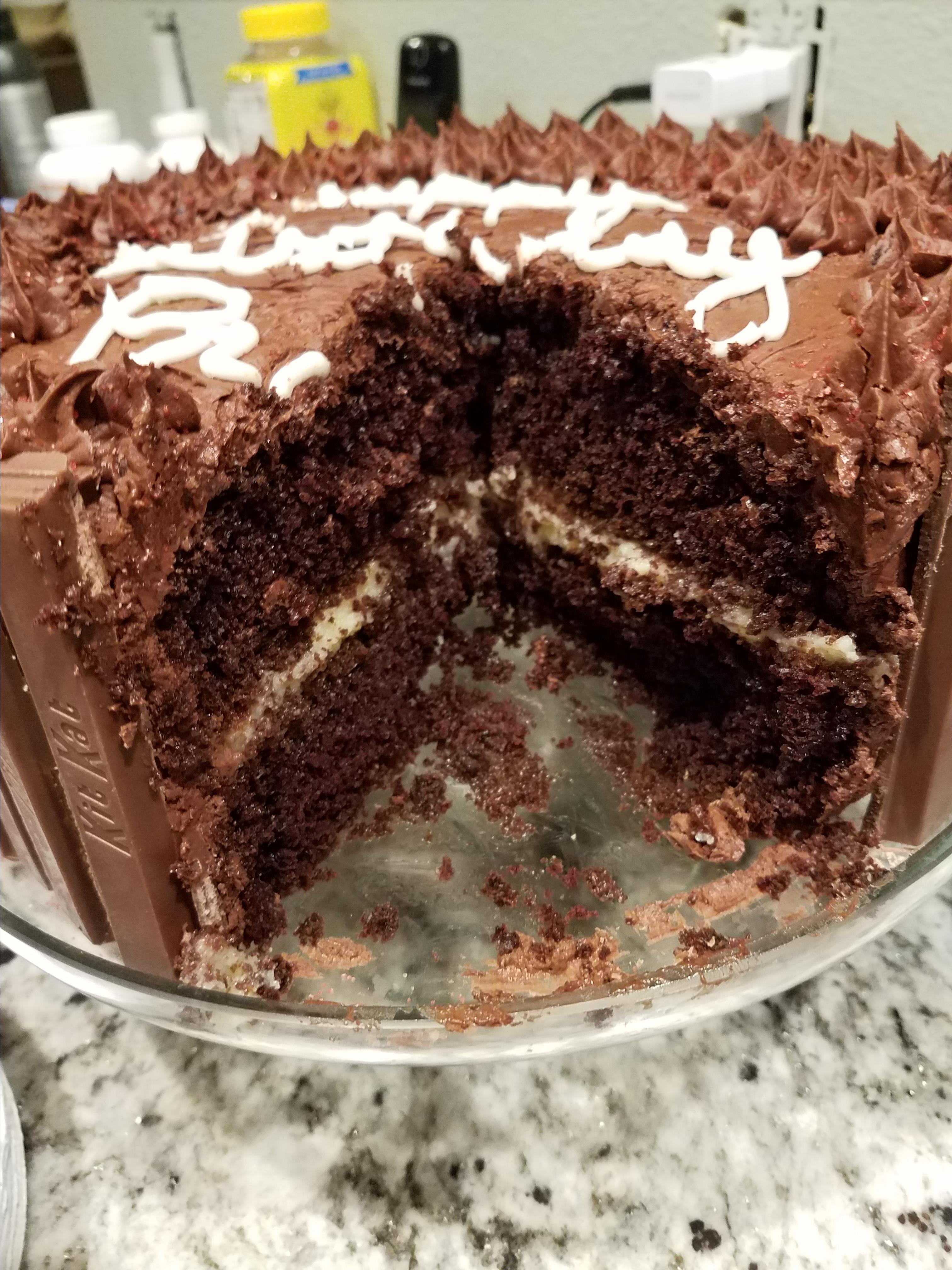 Easy Custard Cake Filling pclarkrn