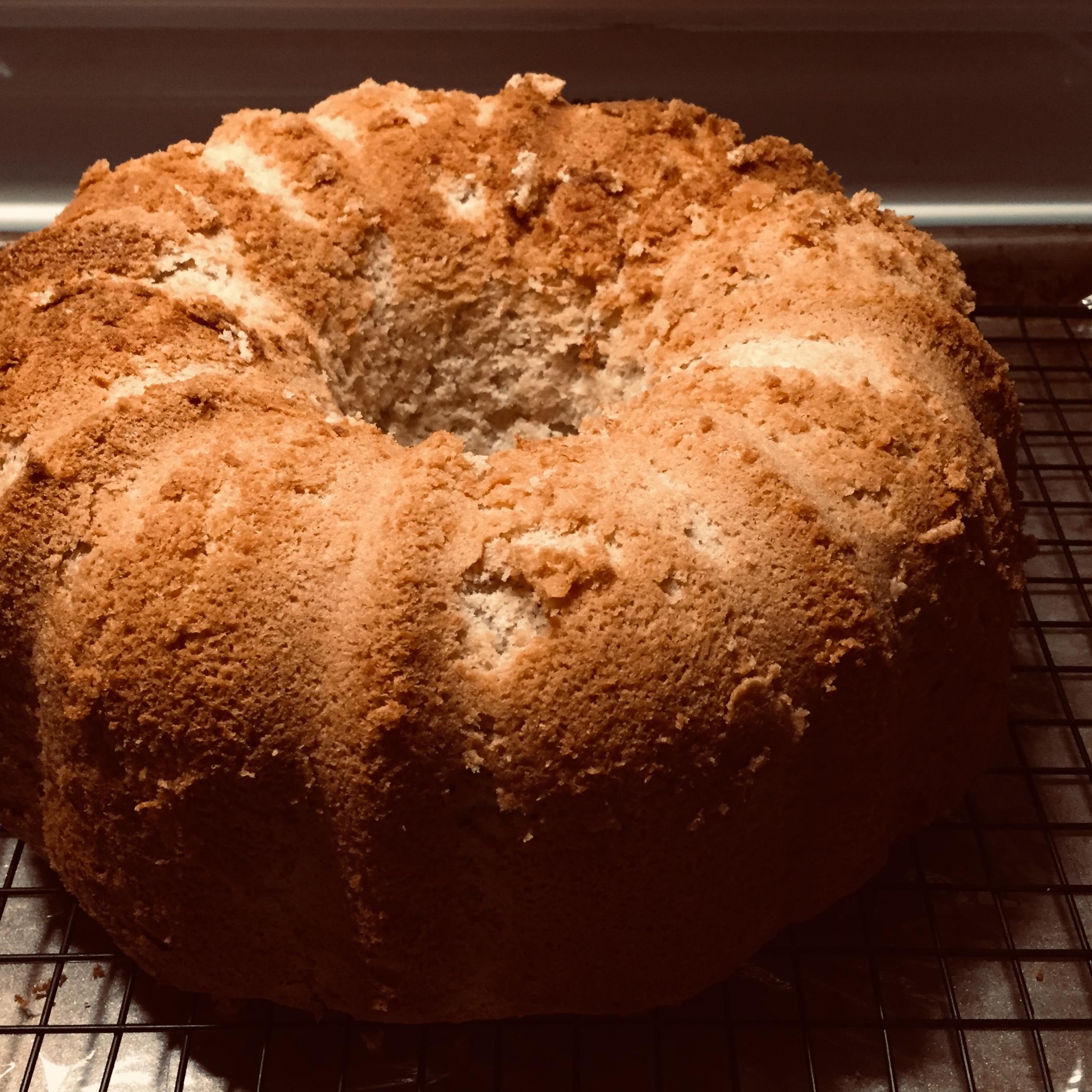 Mocha Chiffon Cake Amy Gronli