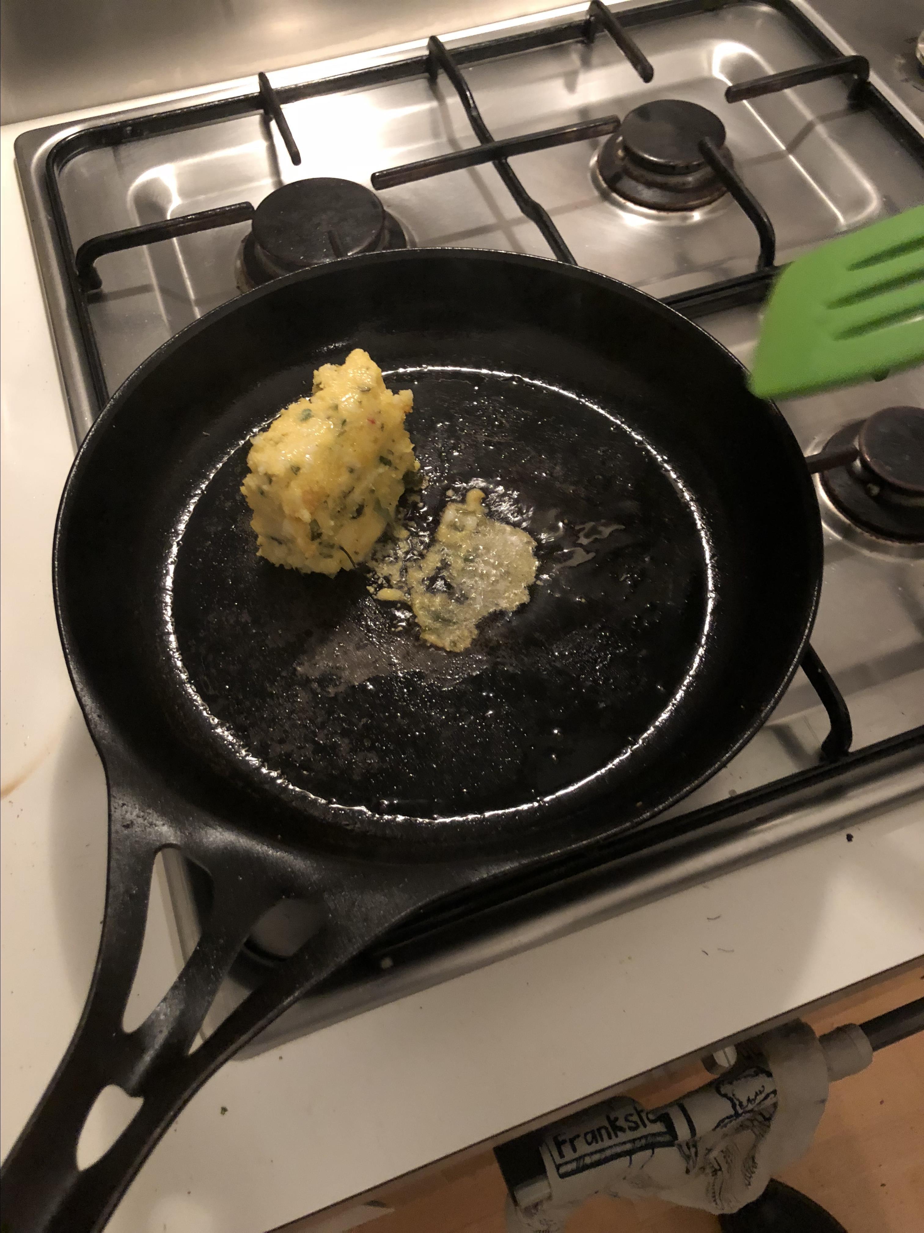 Polenta and Wild Rice Burgers Andrew Kurek