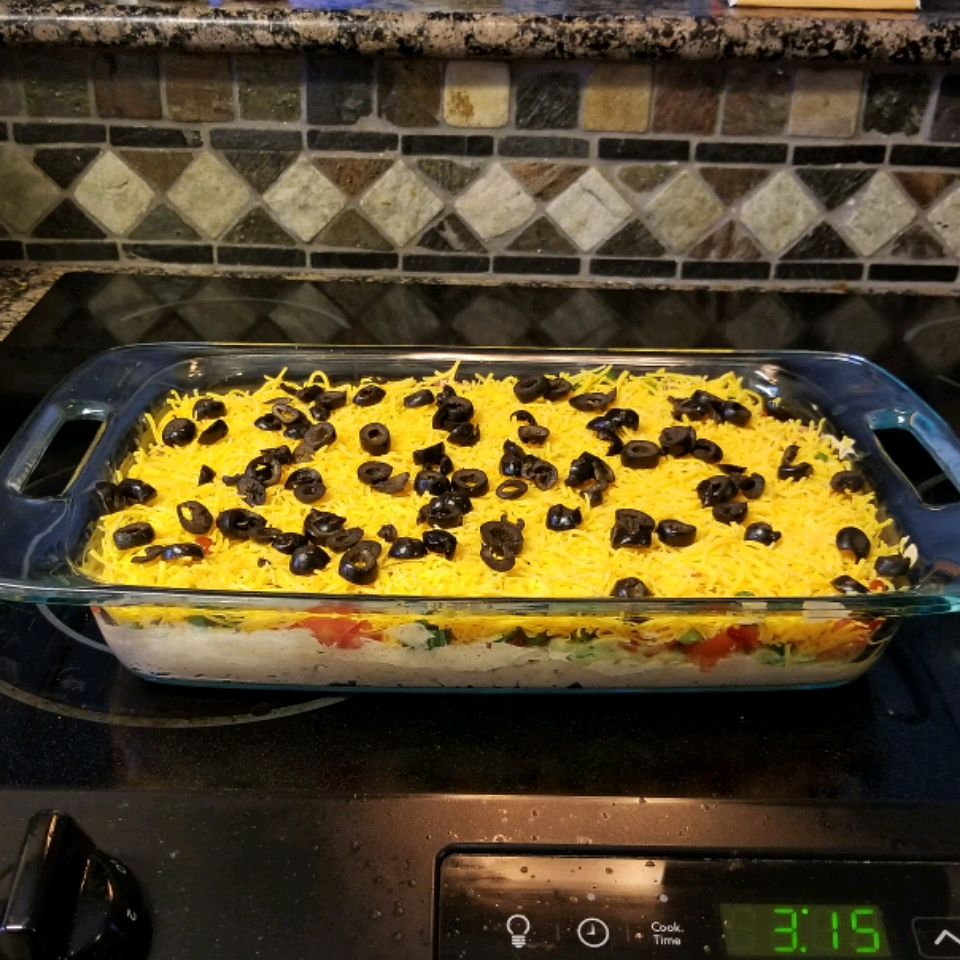 Seven Layer Dip II Anonymous