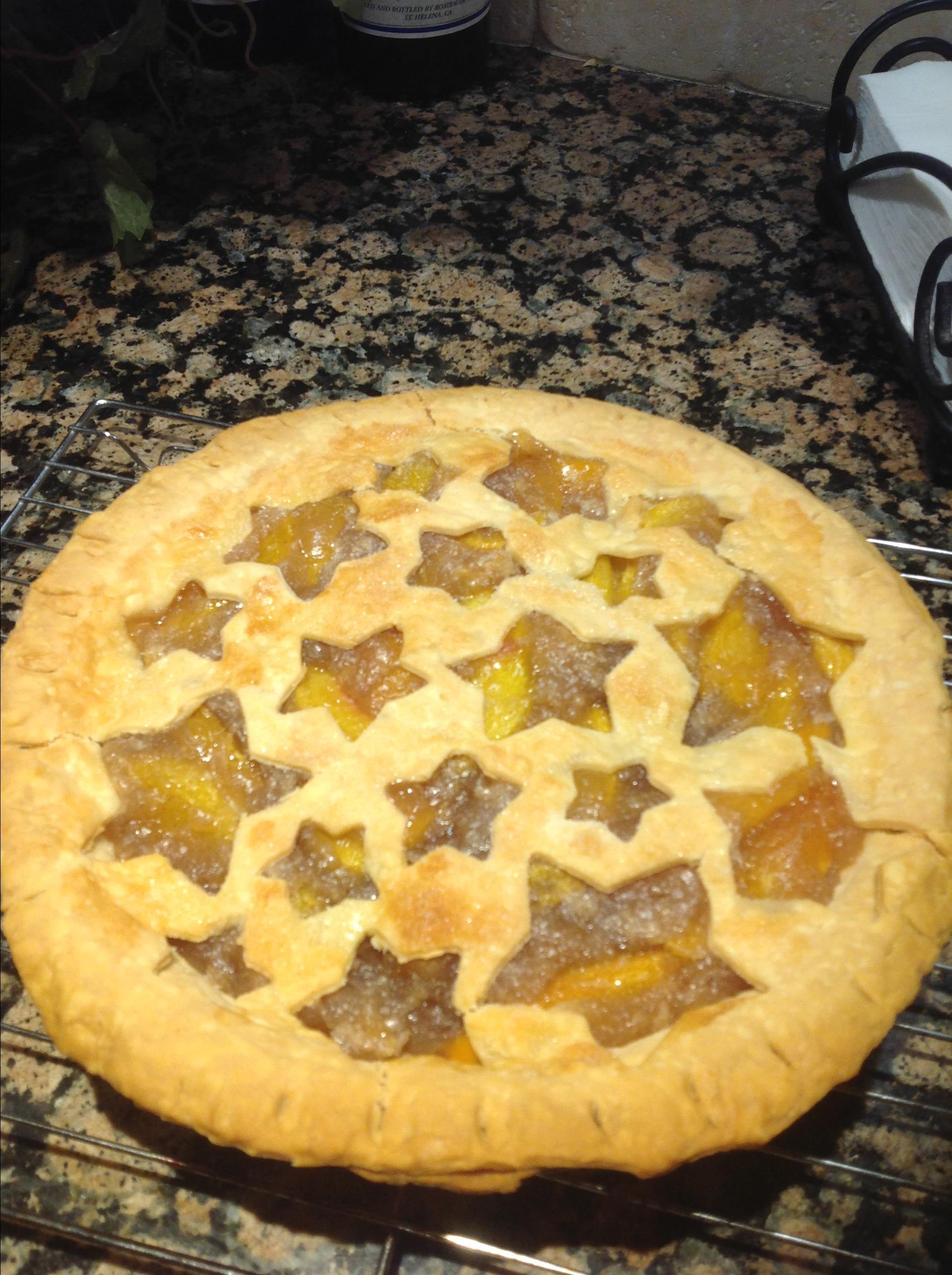 Fresh Peach Pie I