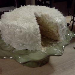 Fresh Coconut Layer Cake Verena