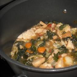 Ribollita (Reboiled Italian Cabbage Soup)