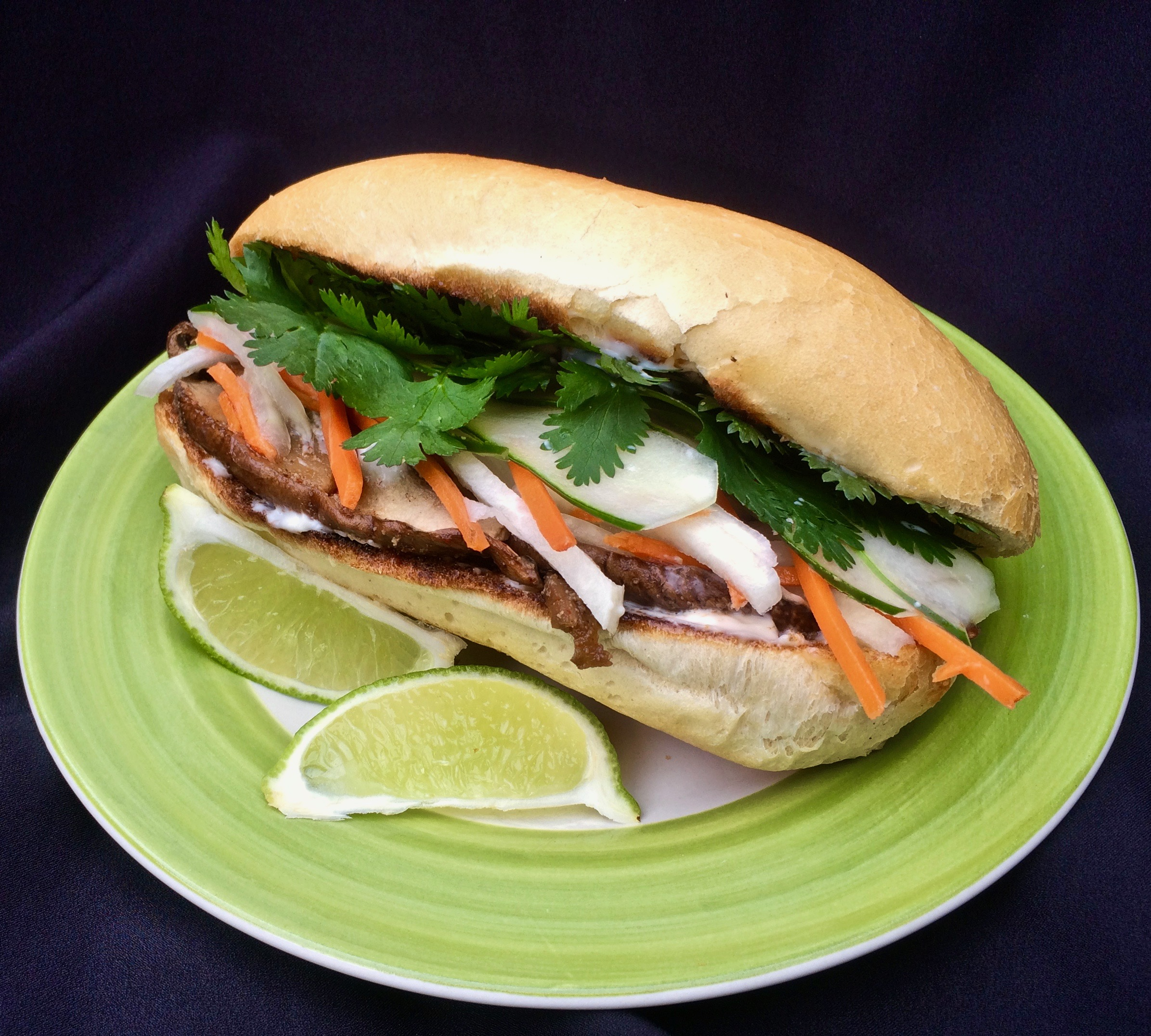 Vegetable Banh Mi