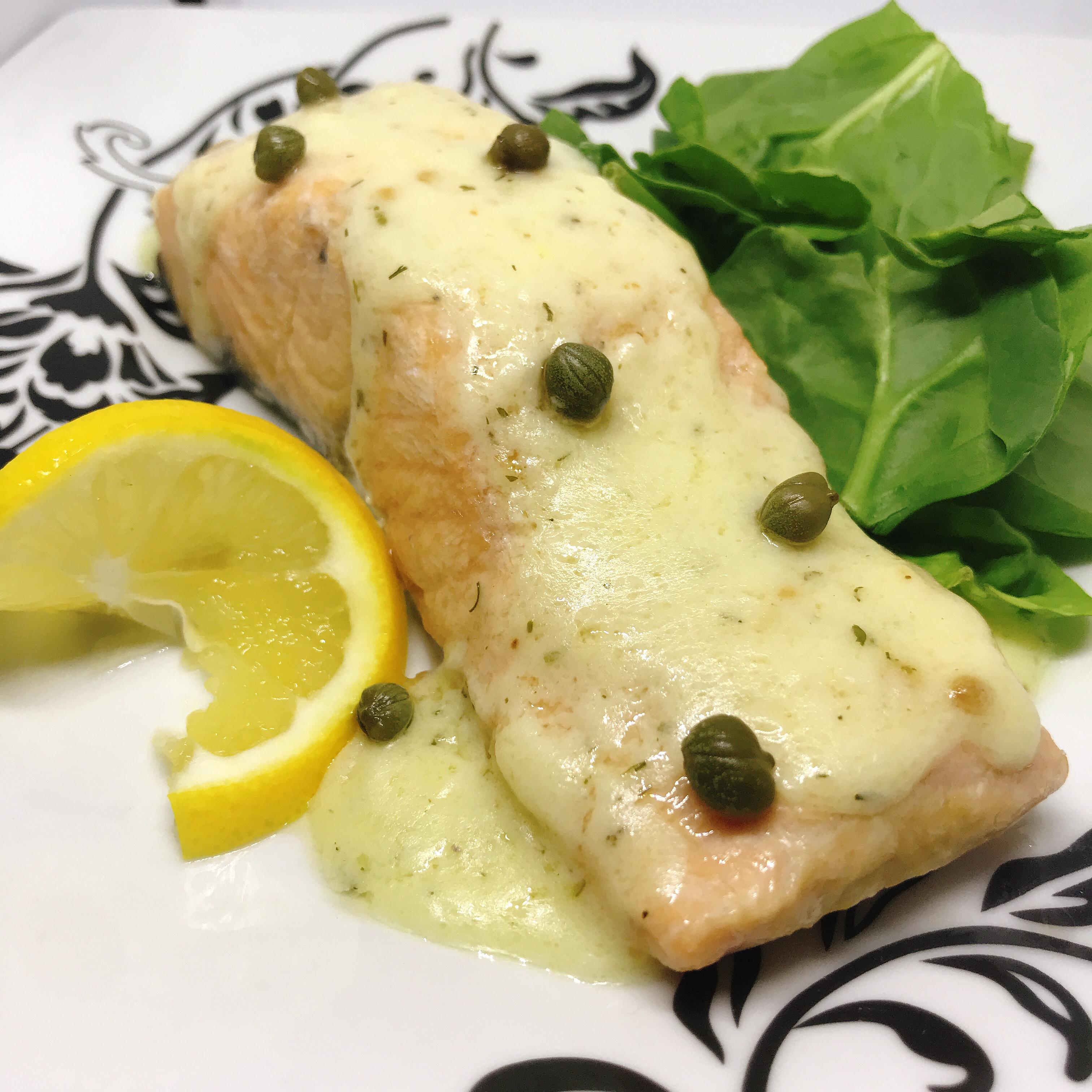Instant Pot® Salmon Piccata
