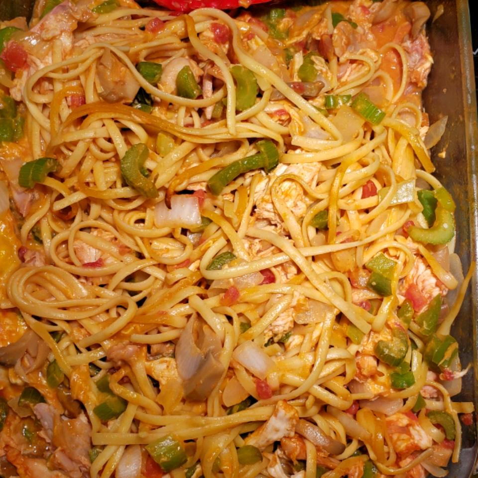 Chicken Chile Spaghetti dustin