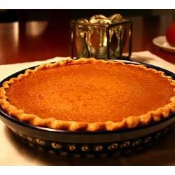 Sugarless Pumpkin Pie II Selin