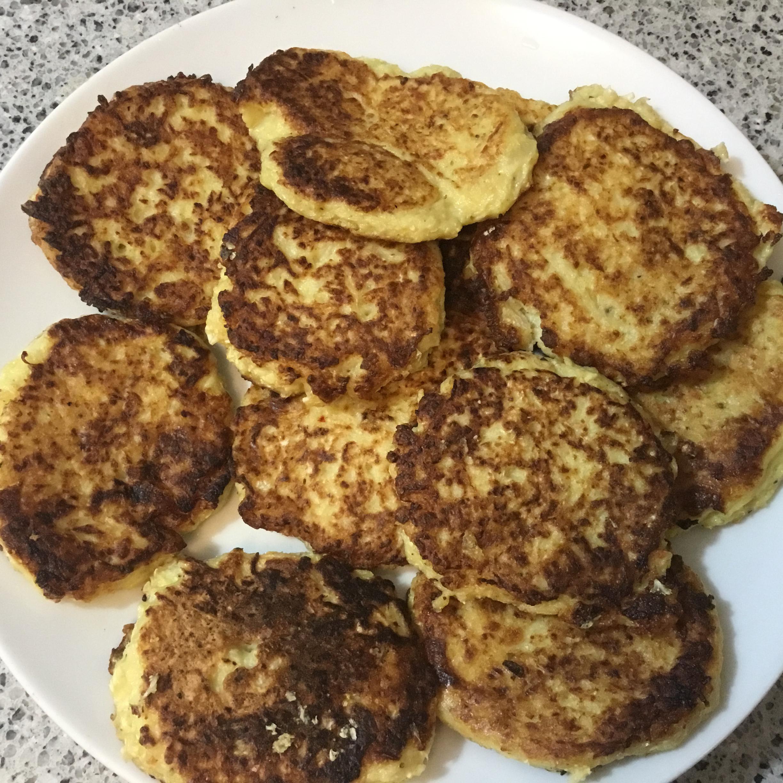 Cauliflower Fritters Bonnie