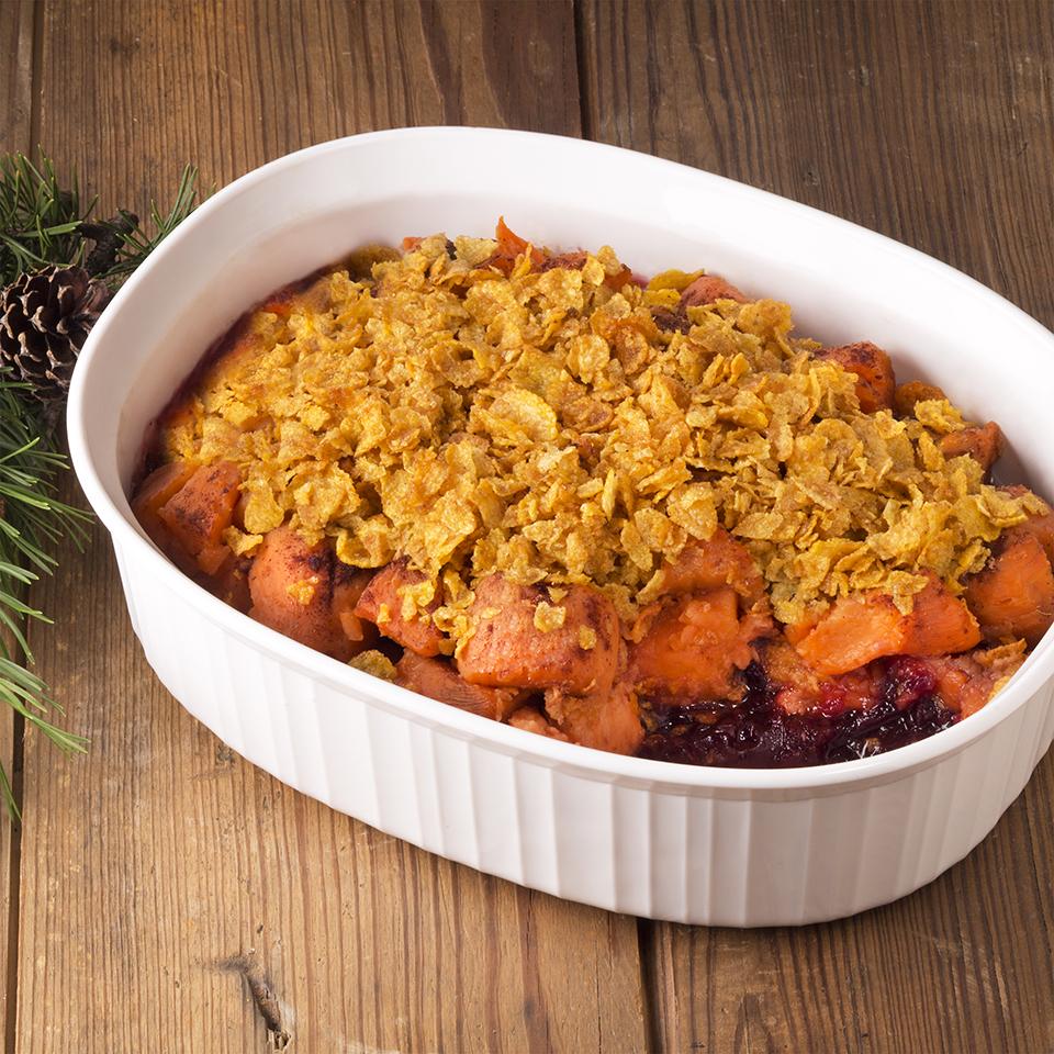 Cranberry Sweet Potato Casserole