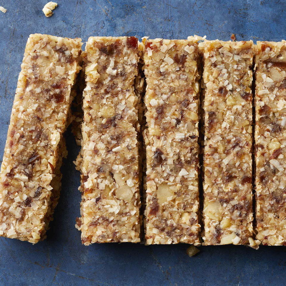 Coconut Fruit & Nut Bars Carolyn Casner