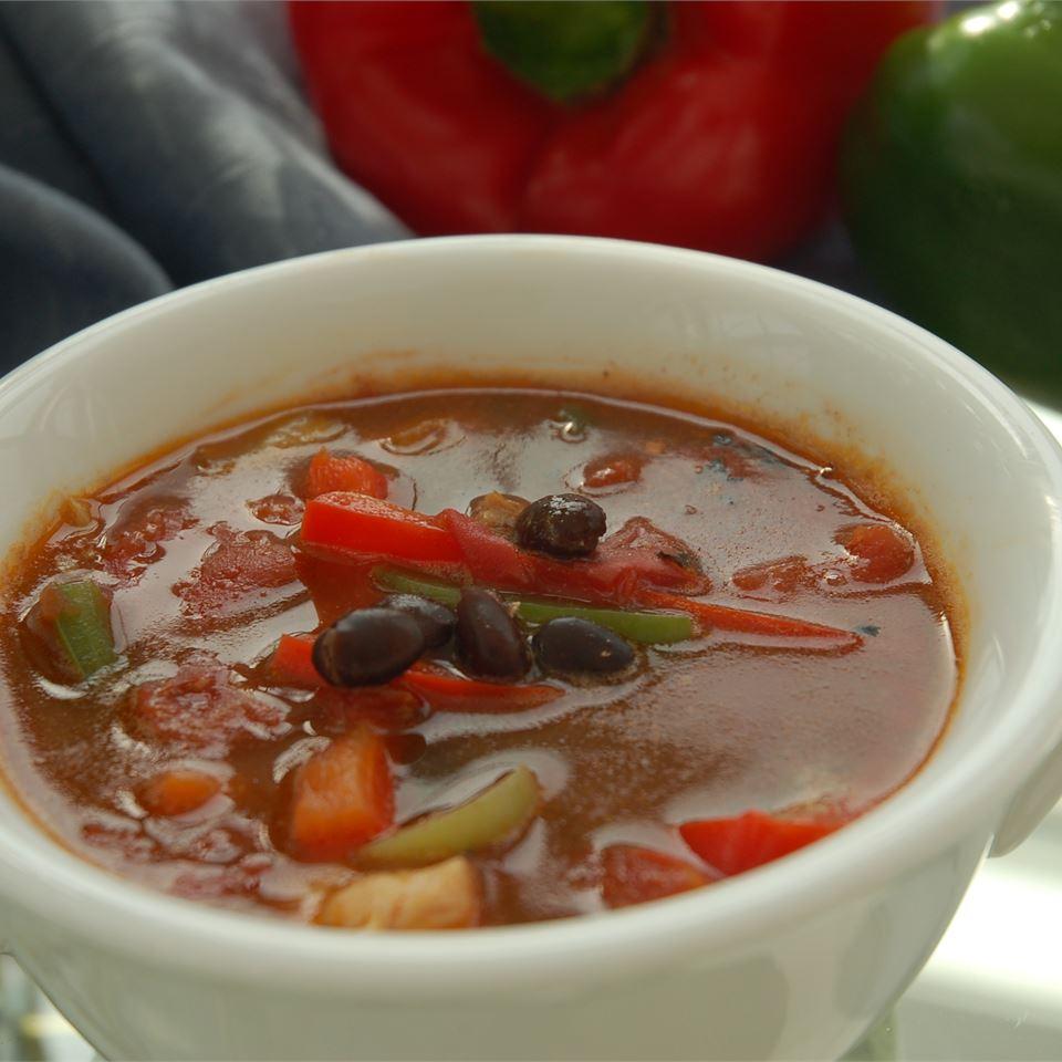 Easy Chicken Fajita Soup Gweb8