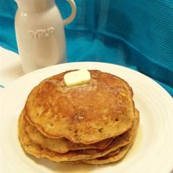 Grain and Nut Whole Wheat Pancakes Rae