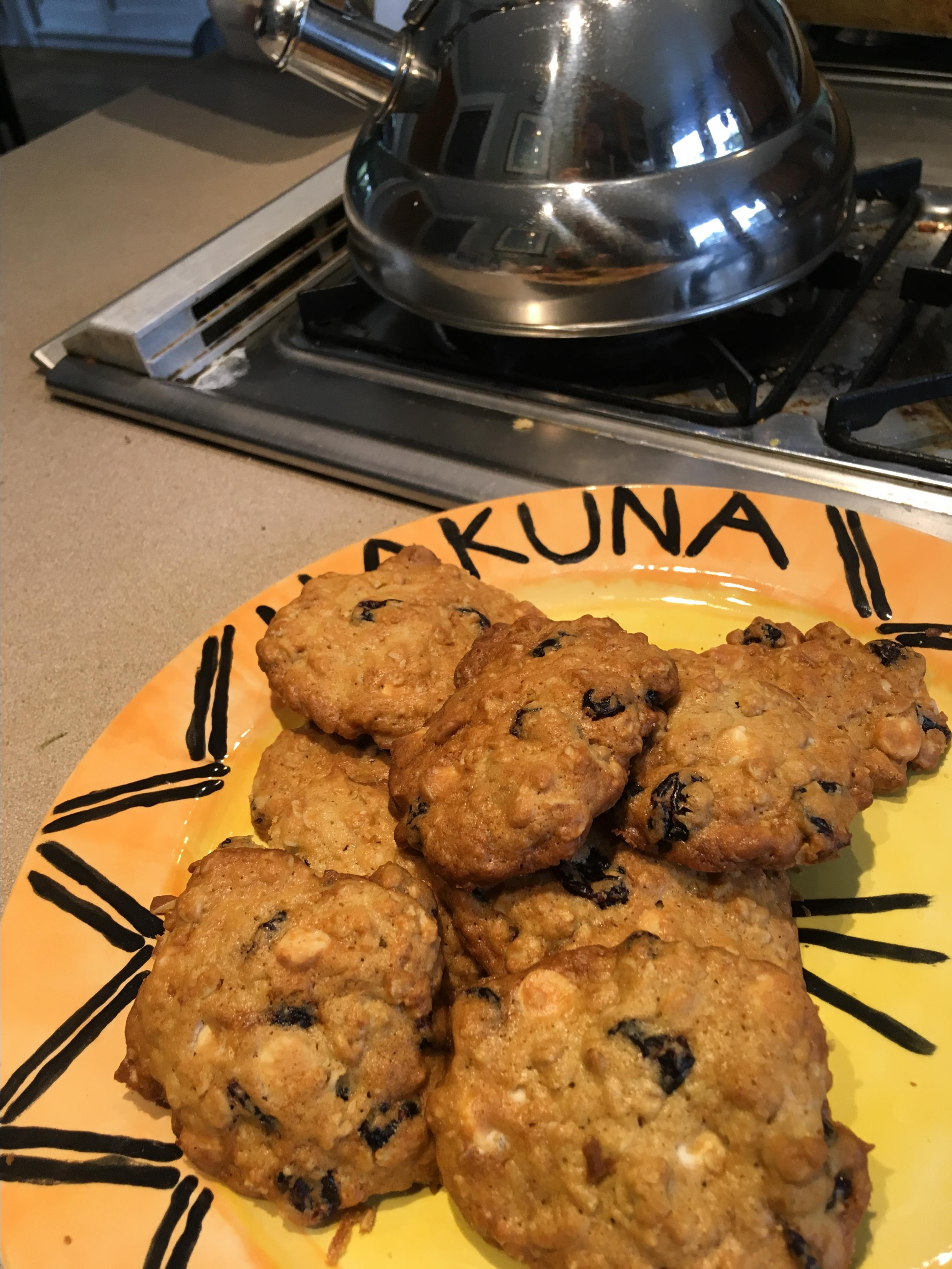 Oatmeal Cranberry White Chocolate Chunk Cookies Chef Ray