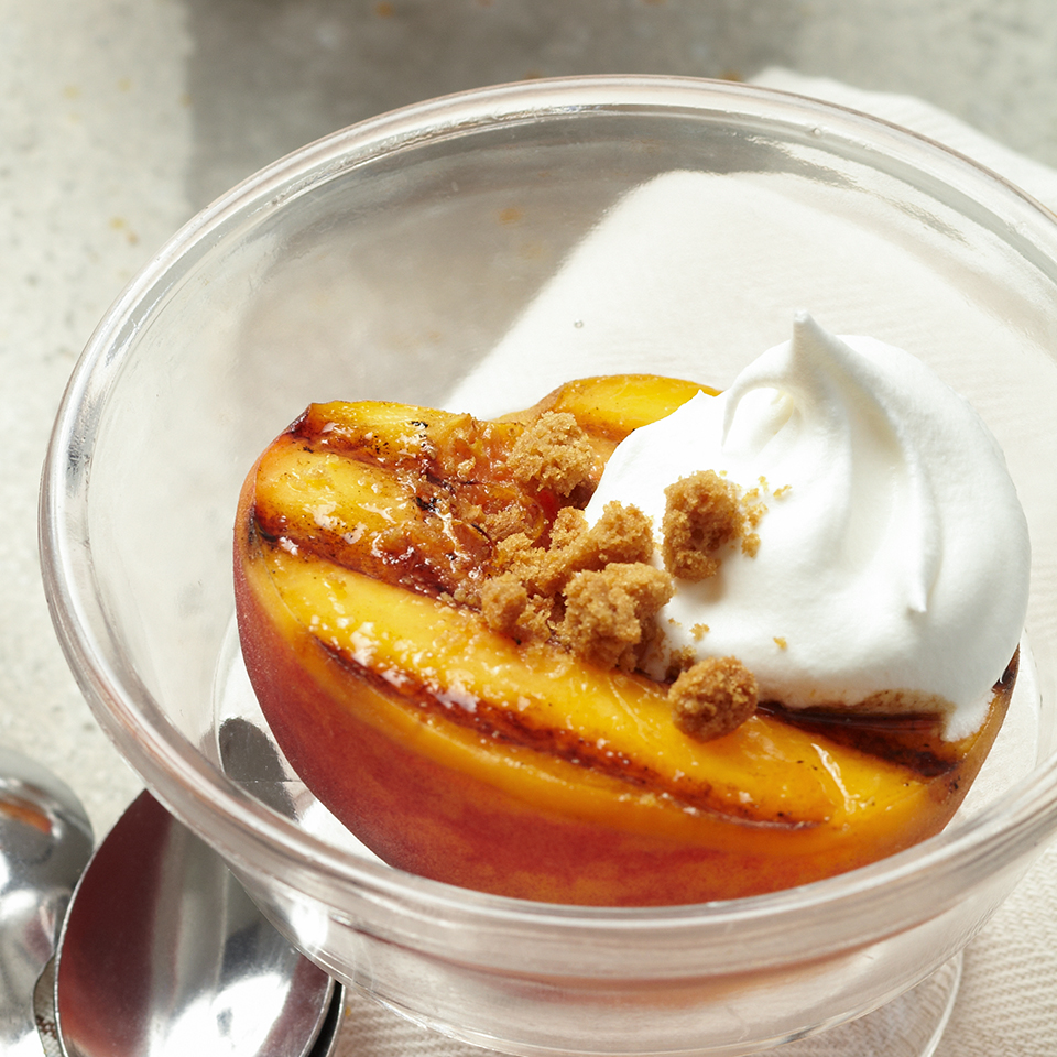 Grilled Peaches with Honey-Balsamic Syrup Diabetic Living Magazine