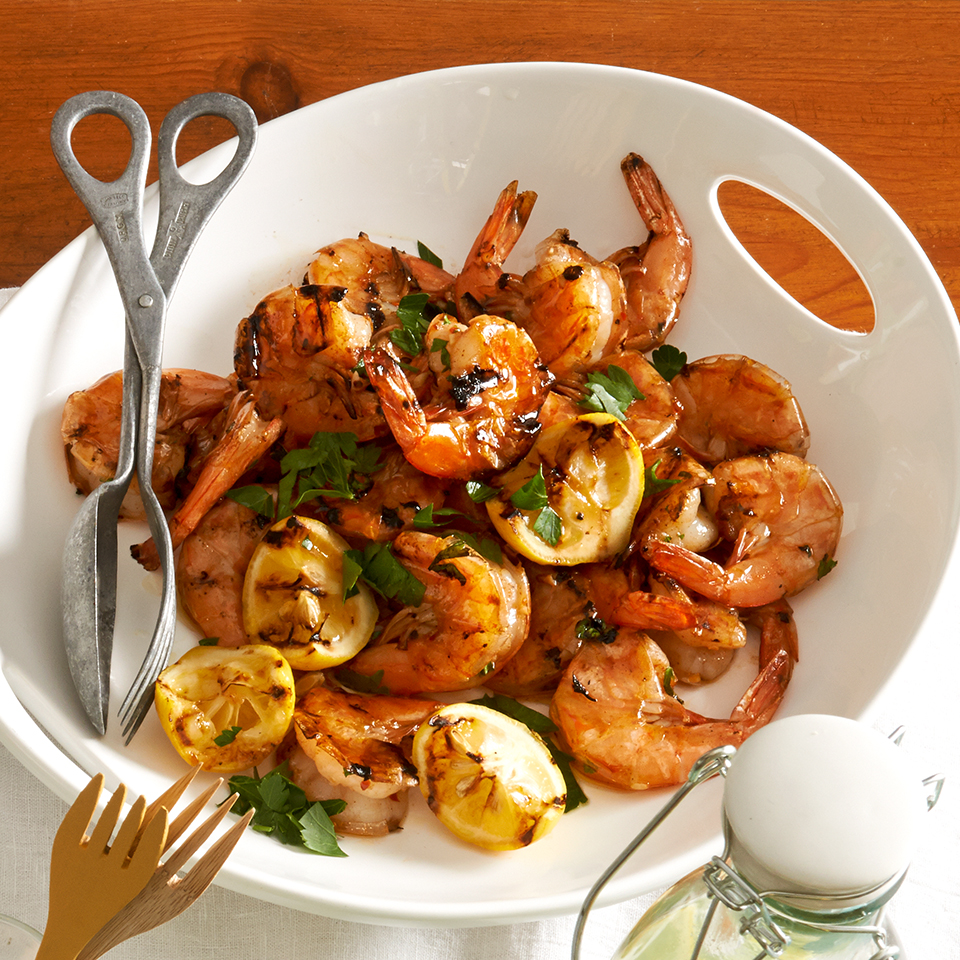 Grilled Sherry-Garlic Shrimp
