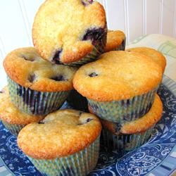 Aunt Blanche's Blueberry Muffins LaurenM