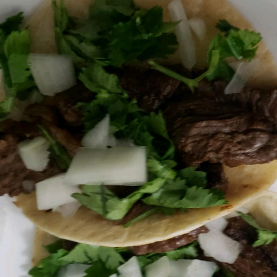 Taqueria Style Tacos - Carne Asada Rigoberto Dimas