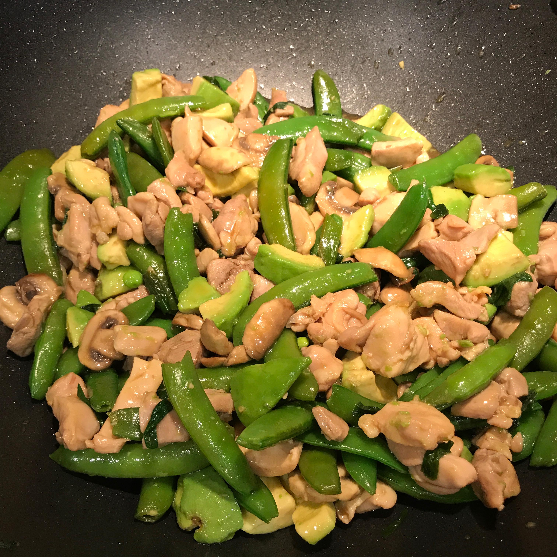 Avocado Chicken Stir-Fry Cnstarz