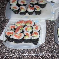 Smoked Salmon Sushi Roll Samantha Prewitt