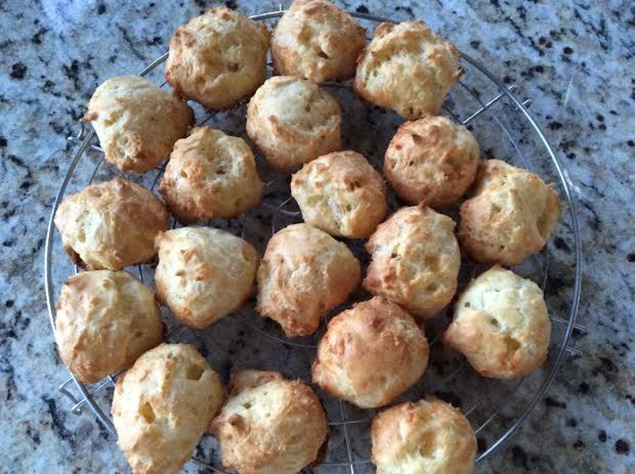 Gougeres with Comte