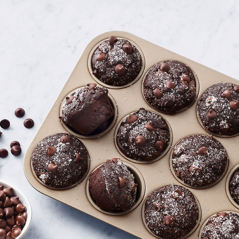 Ghirardelli Double Chocolate Muffins