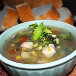 Meghan and Jenn's Veggie, Chicken and Herb Soup HYSOCIETY