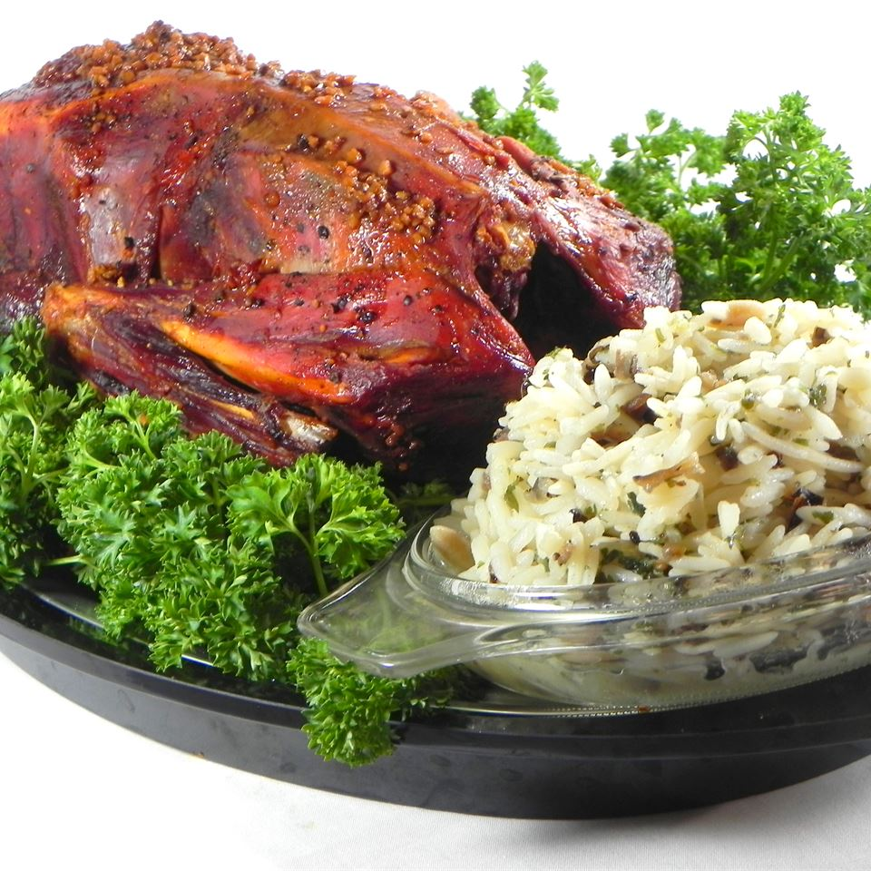 Buckshot Duck with Wild and Brown Rice Stuffing CHEF FABULOUS!