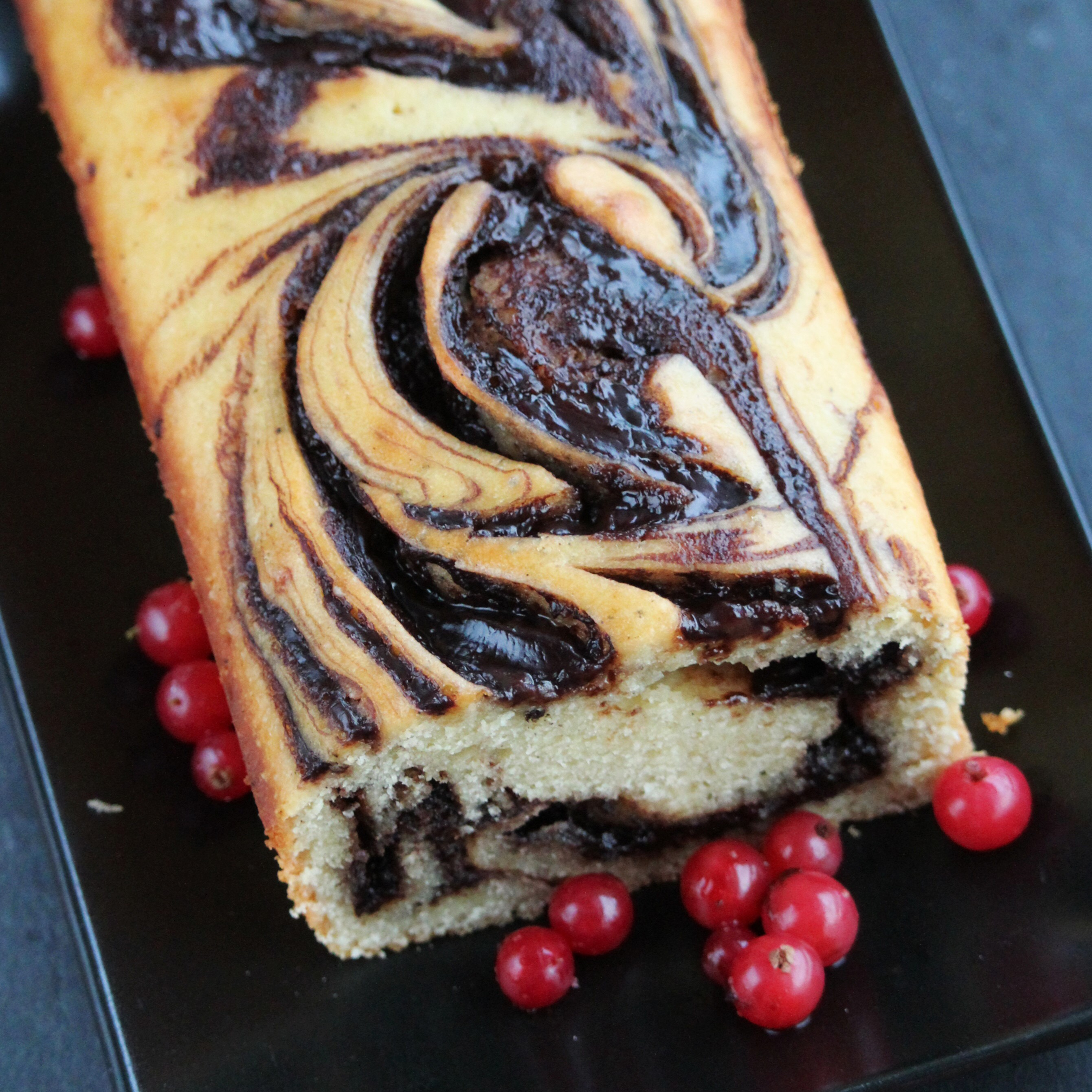 Nutella® Cream Cheese Pound Cake