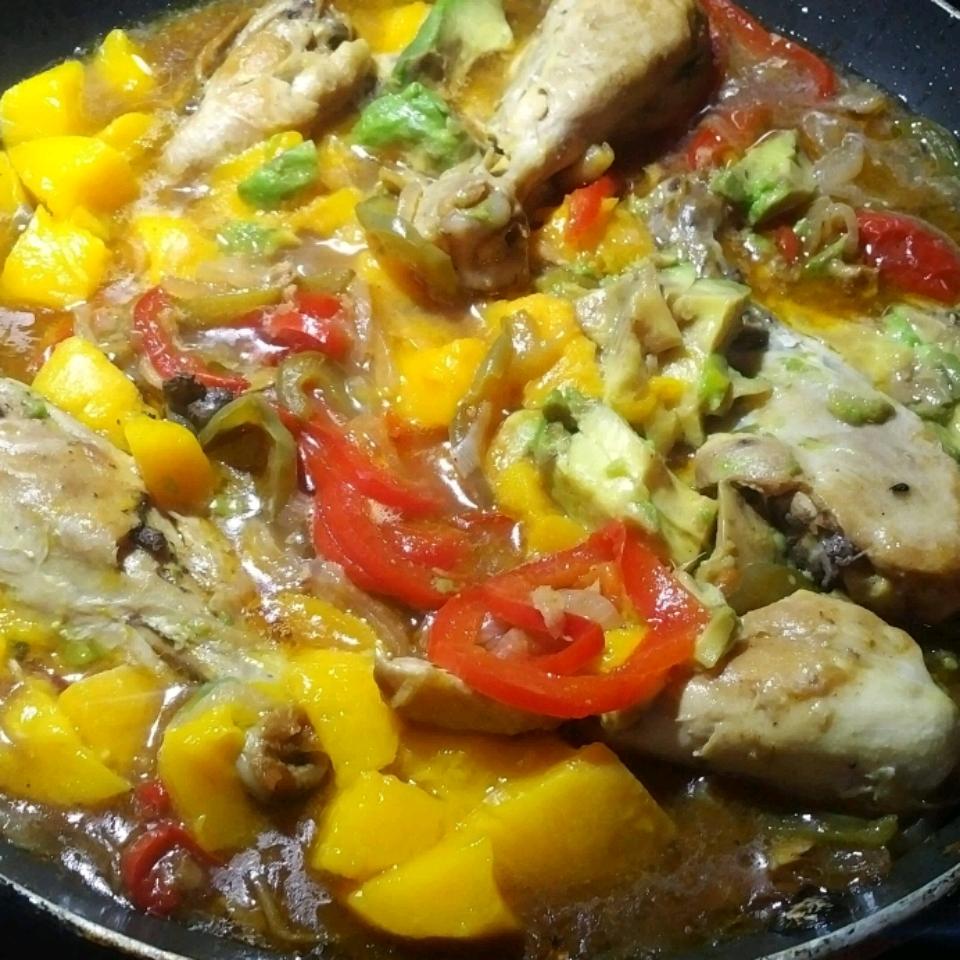 Malaysian Mango Chicken Curry DaveyC