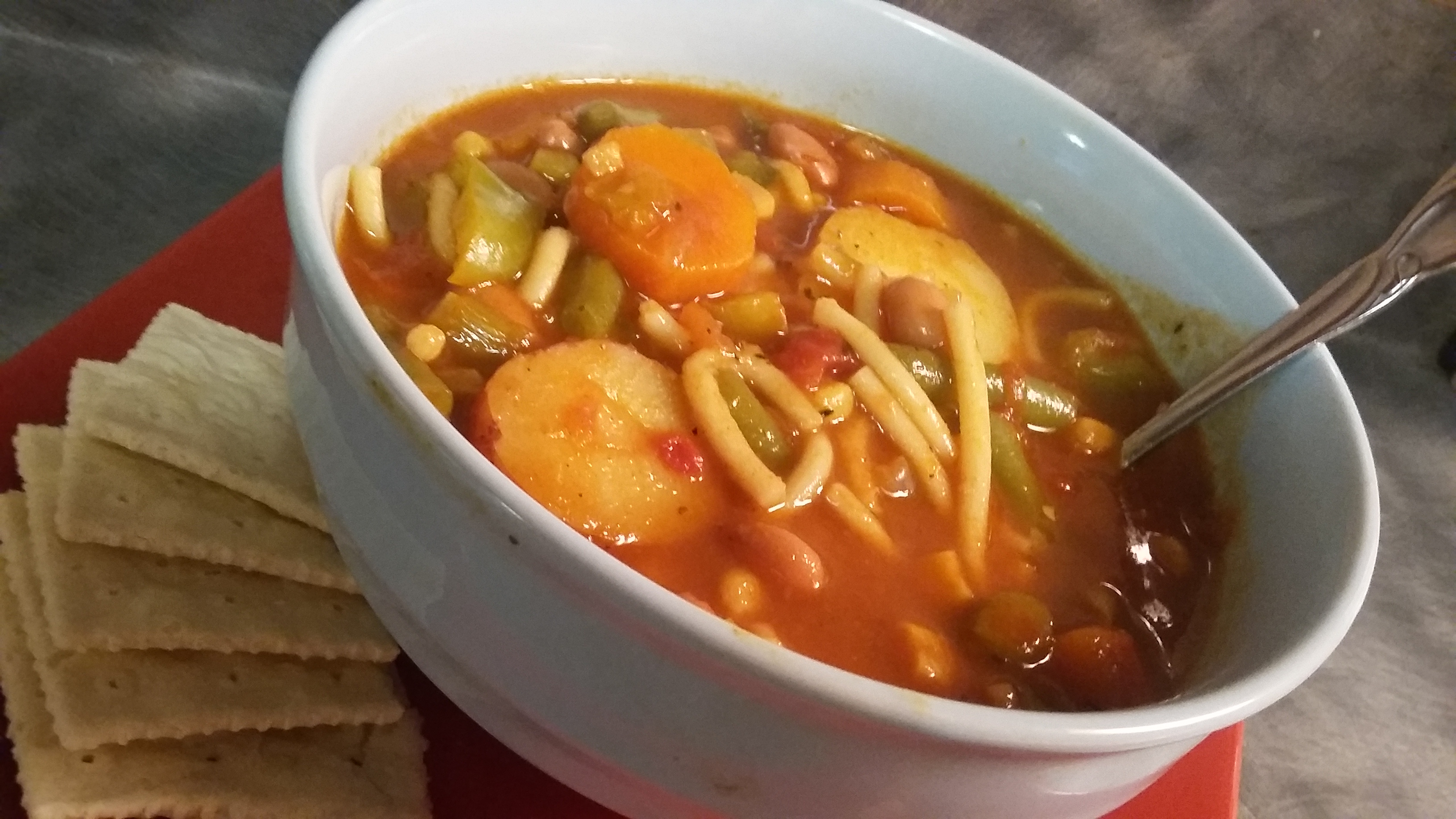Quick and Easy Vegetable Soup Anne Vackrinos