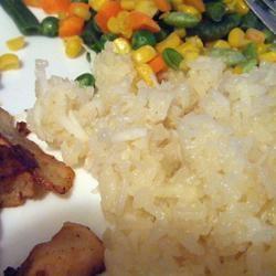 Coconut Lime Rice Lurel White