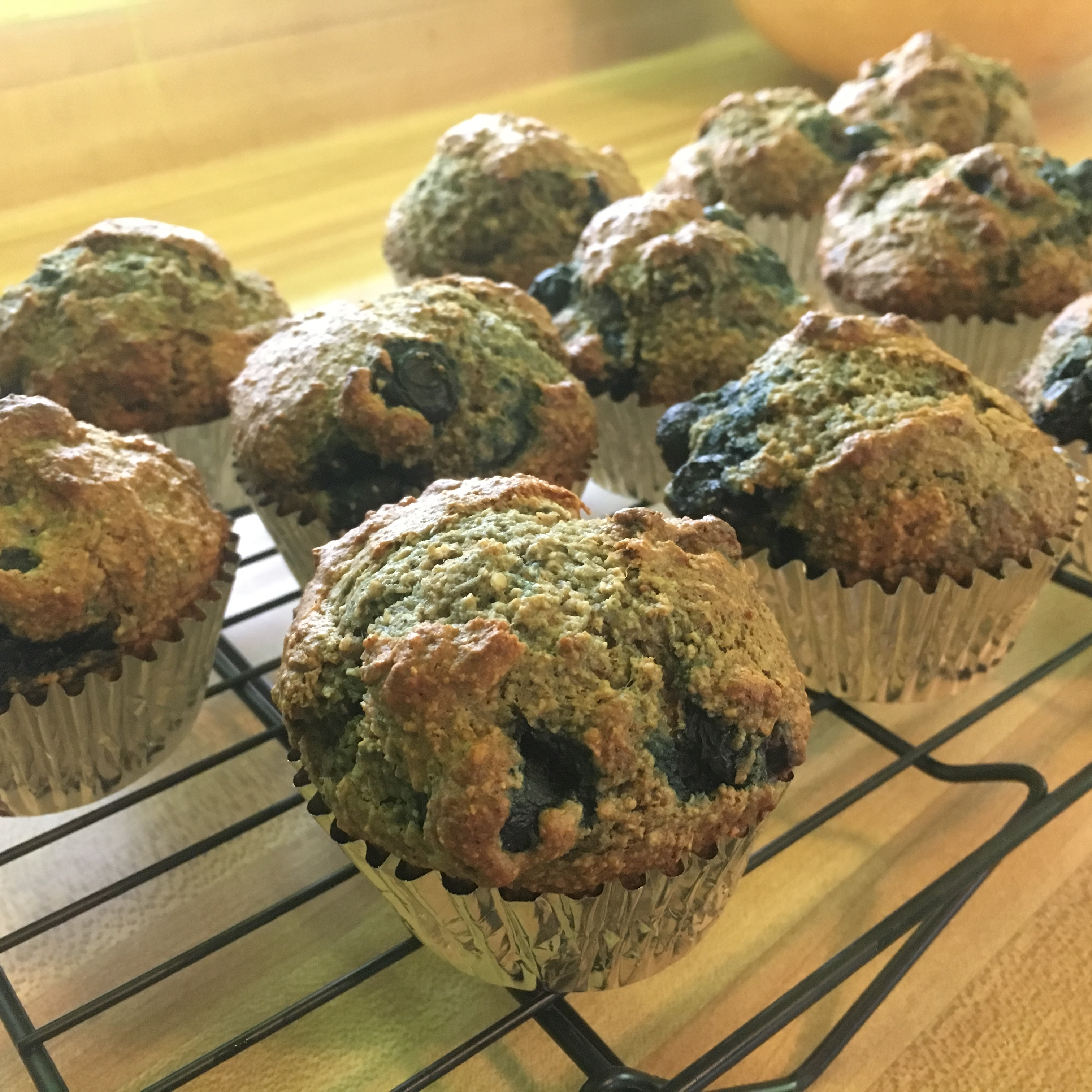 Blueberry Nut Oat Bran Muffins Angie DeMay