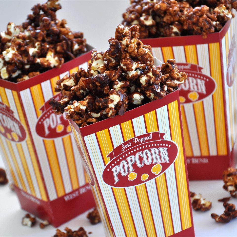 Chocolate Popcorn Alberta Rose