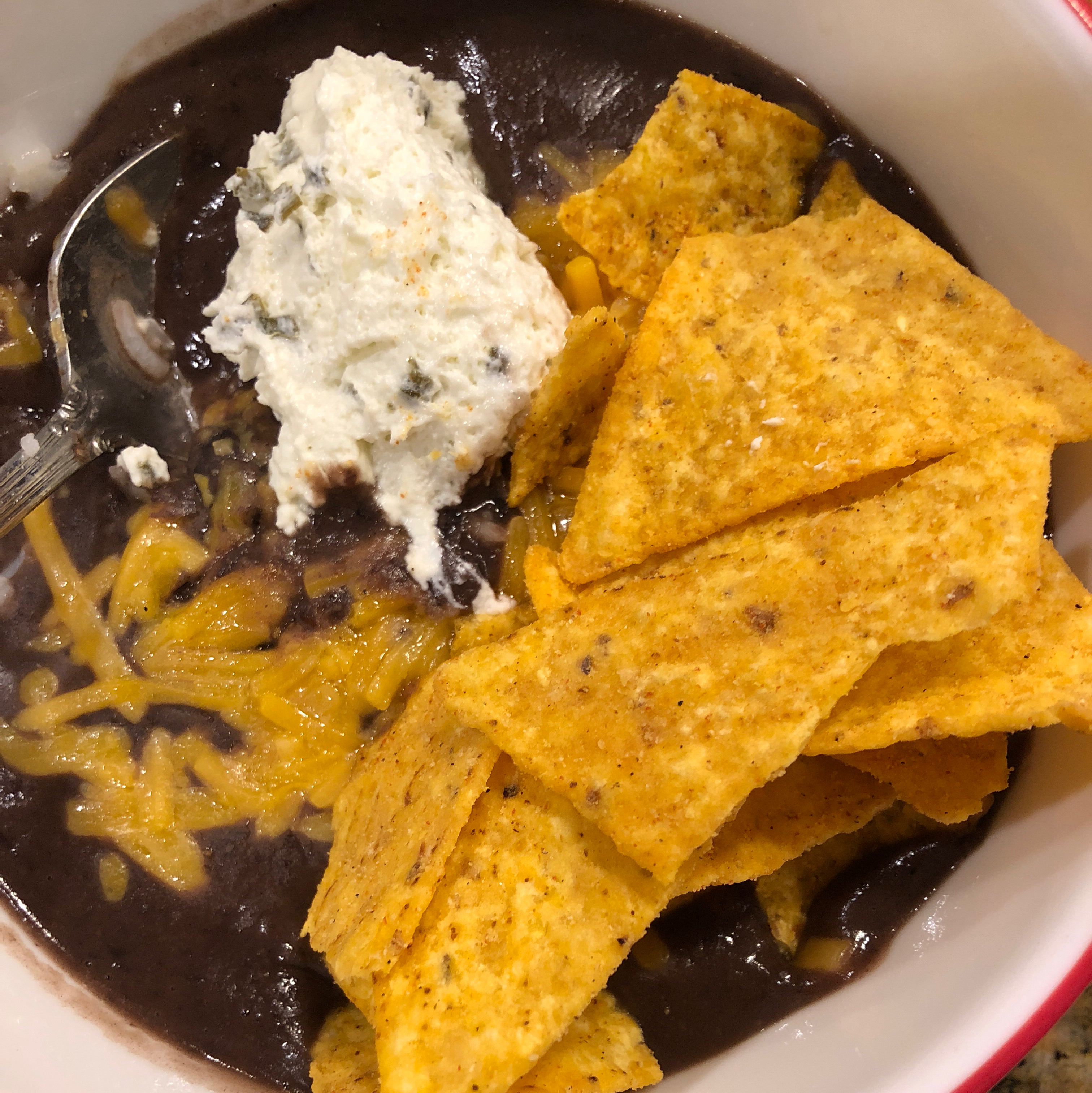 Quick Black Bean Soup Key
